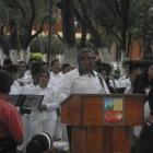 Inauguran el busto y pódium al compositor José López Alavés