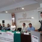 INE firma convenio con pueblos mancomunados de la Mixteca