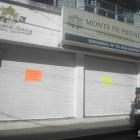 Realizan paro de actividades trabajadores del Monte de Piedad de Huajuapan