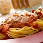 Receta del día; Espagueti a la boloñesa