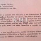 Huajuapan en buro de crédito por falta de pago ante BANOBRAS