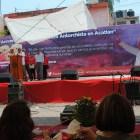 Festejan antorchistas su aniversario número 26 en Acatlán