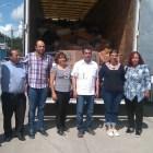 Recibe Huajuapan 12 toneladas de vívieres recolectados en Moroleón