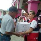 Brinda Cruz Roja Mexicana ayuda en la Mixteca