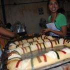 El costo de Rosca de Reyes en Acatlán, solo aumento 10 pesos