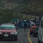 Bloqueos del magisterio afecta corridas de autobuses en la Mixteca