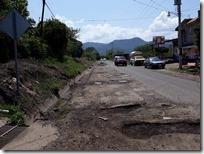 Baches en la carretera Huajuapan Tehuacán