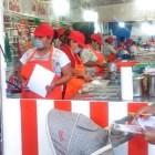 Realizan inspección en establecimientos de comida en recinto ferial