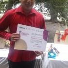 Gana huajuapeño segundo lugar en concurso de artesanías