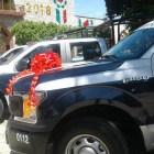 Se entregan patrullas y uniformes a policías de Huajuapan