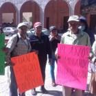 Despiden a trabajadores de limpia de Huajaupan