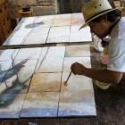 Pintor huajuapeño realizará murales en nuevo estadio de beisbol de los Diablos Rojos del México