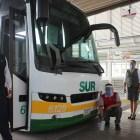 Empresas de suburbans y autobuses se comprometen a cumplir medidas sanitarias en Huajuapan