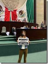 Diputada Alejandra García Morlan