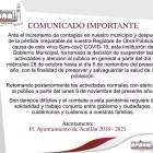 Ayuntamiento de Acatlán suspende actividades a causa de COVID-19