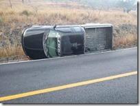 accidente camioneta