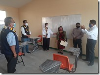 Inauguran aula