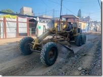 Reactivan trabajos en calle Allende
