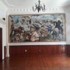 Develan pinturas óleo para el Salón de Cabildo