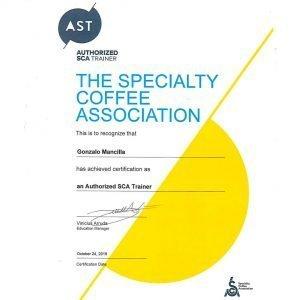 Reconocimiento AST Xeridas coffee farm