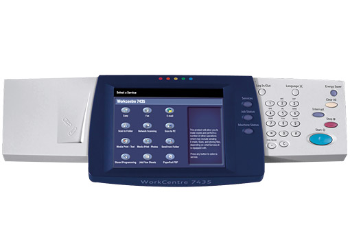 Workcentre 7425 7428 7435 Full Color Touch Screen