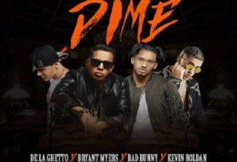 De La Ghetto Ft. Bryant Myers, Bad Bunny y Kevin Roldán – Dime
