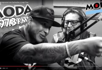 Daddy Yankee improvisando en Radio de Peru