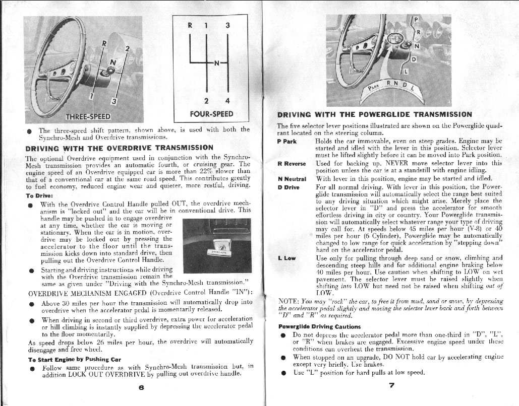Chevrolet Owners Manual 5