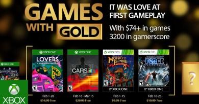 Ανακοινώθηκαν τα δωρεάν Xbox Live παιχνίδια Φεβρουαρίου