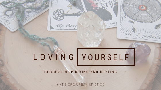 loving yourself deep diving