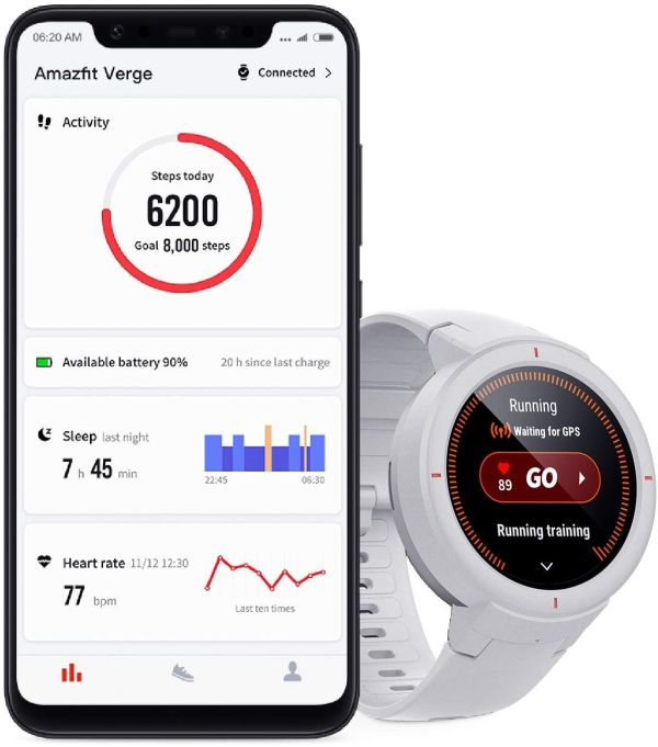 Amazfit Verge Smartwatch with GPS Alexa Built-in