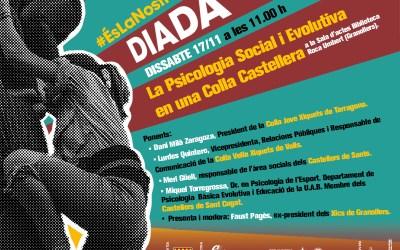 """Els Xics organitzem la xerrada """"Psicologia social i evolutiva d'una colla castellera"""""""