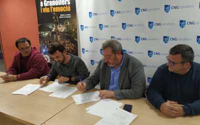 Signatura del conveni amb el CNG
