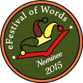 Badge nominee Efestival of Words - 2014