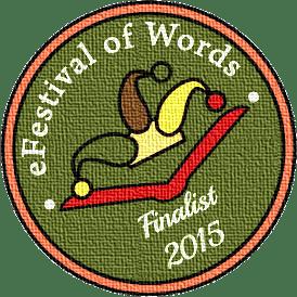 Badge nominee Efestival of Words - 2015