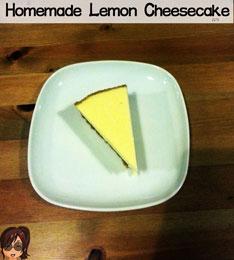 homemade-lemon-cheesecake