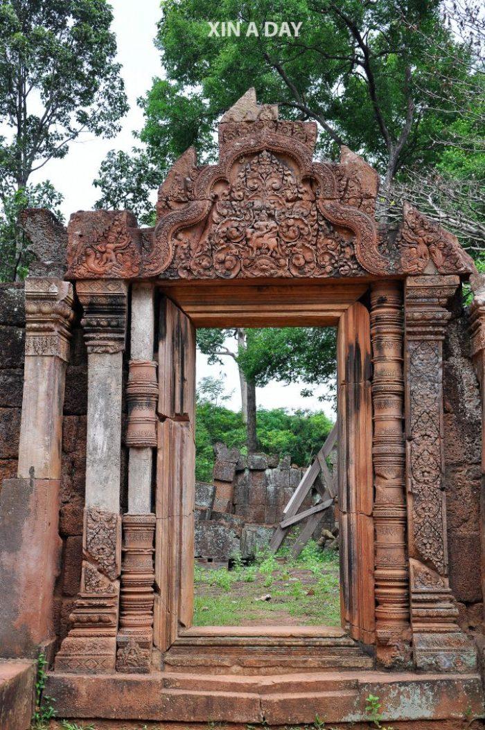 女王宫 Banteay Srei @ Siem Reap