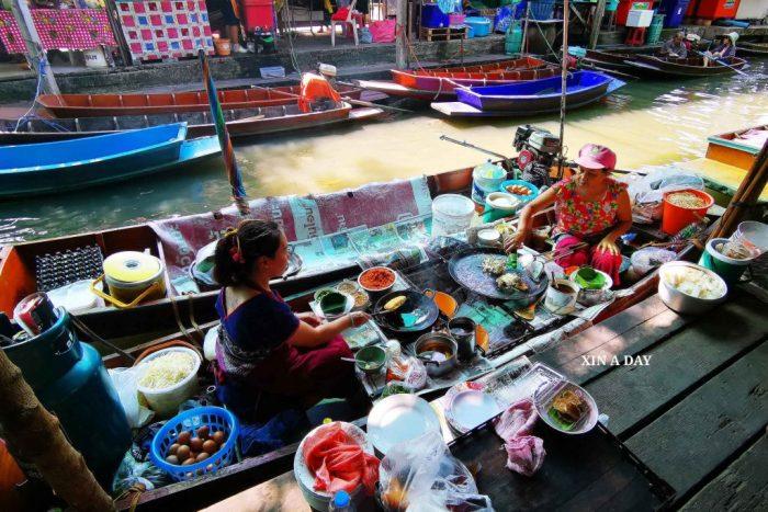 ❤ 空叻玛荣水上市场 Khlong Lat Mayom Floating Market ❤