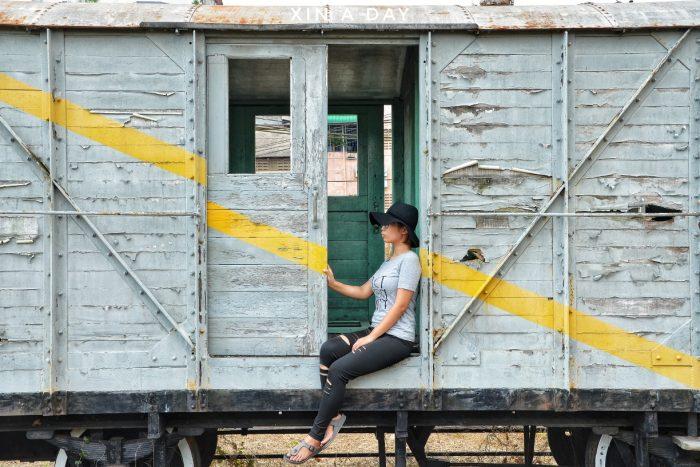 金马士旧火车站