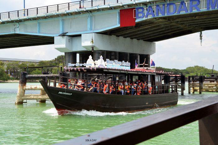 麻坡游船河 Muar River Cruise