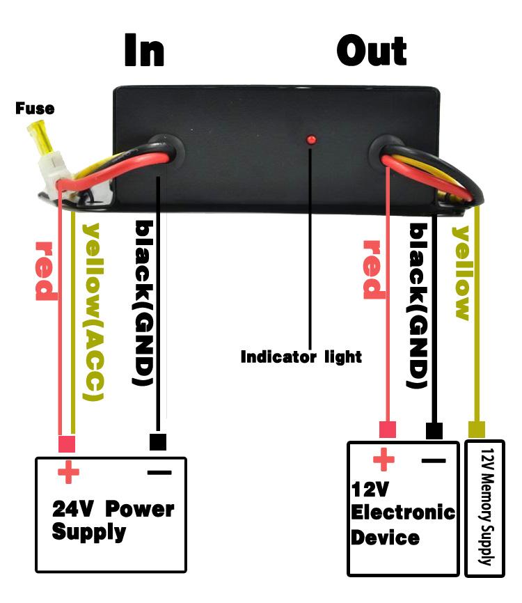 24 Converter Volt Power