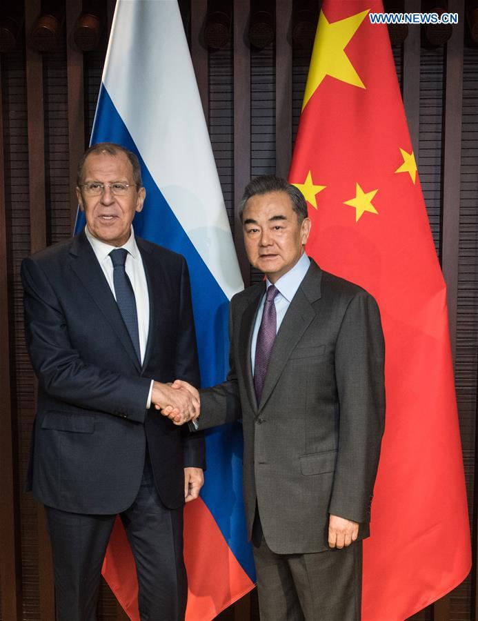 Chinese, Russian FMs meet on closer ties | CHINDIA ALERT: You'll be