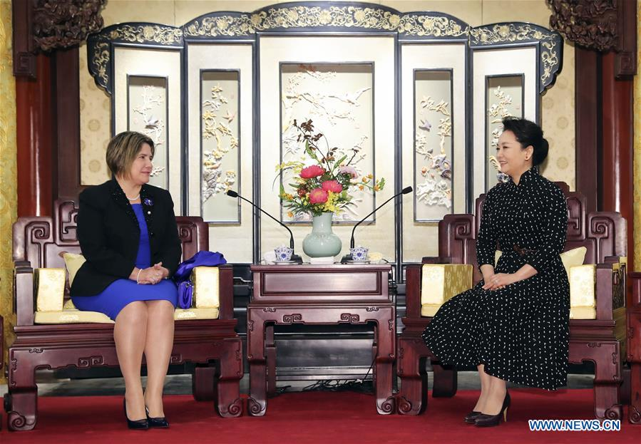 CHINA-BEIJING-PENG LIYUAN-CUBA-MEETING (CN)