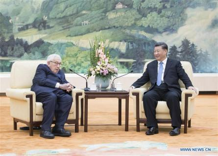 CHINA-BEIJING-XI JINPING-KISSINGER-MEETING (CN)