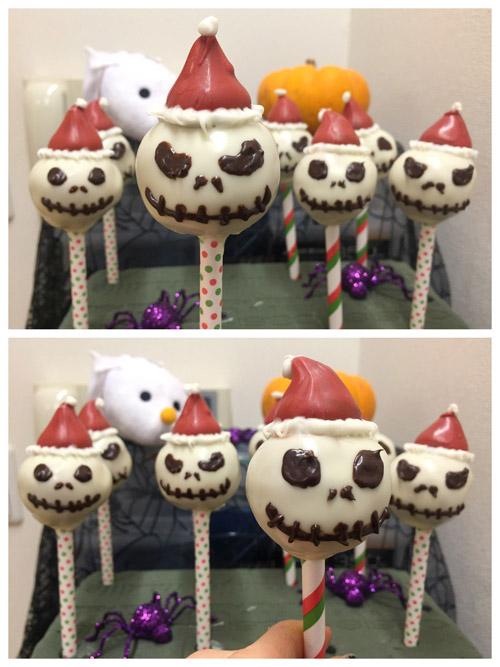 close up cake pops