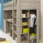 Gami Largo Loft Beds For Teens Canada With Desk Closet Xiorex
