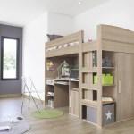 Gami Montana Loft Beds With Desk Closet Storage Underneath Xiorex
