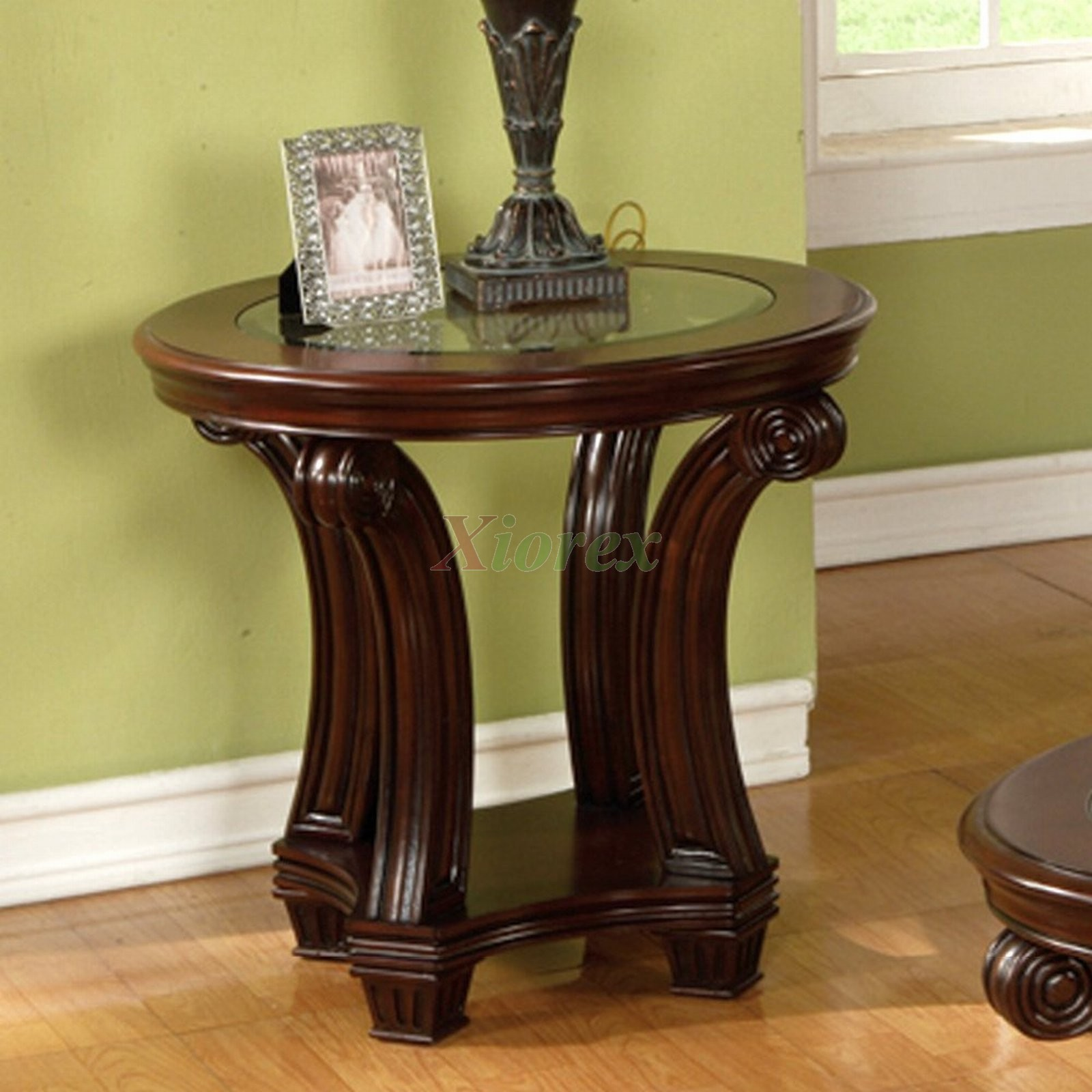 perseus round end table living room furniture montreal | xiorex