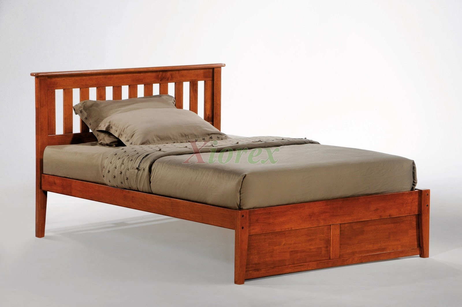 Night And Day Rosemary Bed Platform Bed W Slat Headboard Xiorex Beds