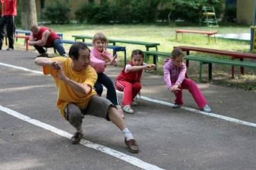 Lezioni di Wushu alla Festa d'inizio Estate
